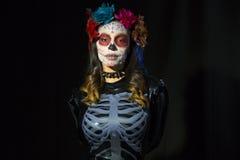 Мексиканский череп конфеты Стоковые Фотографии RF