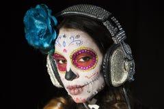 Мексиканский череп конфеты Стоковое фото RF