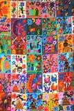 мексиканский quilt Стоковая Фотография