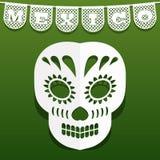 Мексиканское бумажное украшение Стоковое Изображение RF