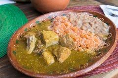 Мексиканское блюдо Стоковые Изображения