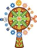 Мексиканское дерево жизни Стоковые Изображения