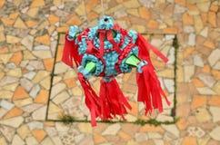 Мексиканское красочное piñata стоковые фотографии rf