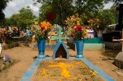 Мексиканское кладбище стоковая фотография