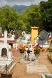 Мексиканское кладбище стоковое фото rf