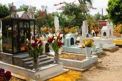 Мексиканское кладбище стоковое фото
