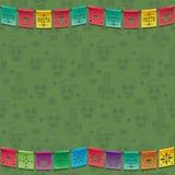 Мексиканское украшение овсянки иллюстрация вектора