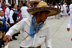 Мексиканское arriero танцора взрослого мужчины Стоковые Фото