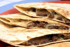 мексиканское quesadilla Стоковое Изображение RF
