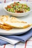 мексиканское quesadilla Стоковое Изображение