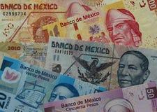 Мексиканськая валюта Стоковая Фотография