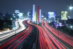 Мексиканськие света ночи стоковые фотографии rf