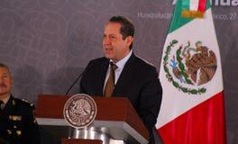 Мексиканський губернатор Eruviel Авила Villegas положения Стоковое Фото