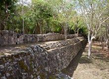 Мексика Археологическая зона Kabah стоковое фото