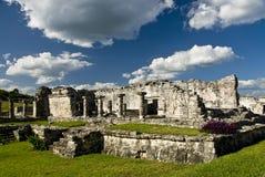 Мексика губит tulum Стоковая Фотография