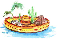 Мексика Стоковое Изображение