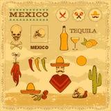 Мексика иллюстрация штока