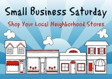 Мелкий бизнес суббота Стоковые Фото