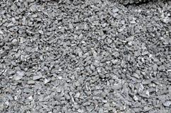 Мелкий уголь разбросан и покрыт с пылью Стоковые Изображения RF