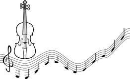 Мелодия иллюстрация вектора