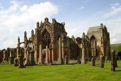 Мелроуз аббатства Стоковые Изображения