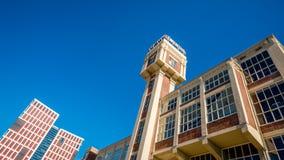 Мельница пара башни старая преобразовала к делу и медицинскому центру Стоковая Фотография