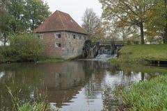 Мельница Mallumse в Eibergen в Нидерландах Стоковое Фото