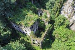 Мельницы Vallum, Сорренто, Италия стоковая фотография rf