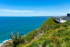 Мемориальная прогулка - Ньюкасл - Австралия стоковое фото rf