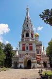 Мемориальный висок рождения Христоса в Болгарии стоковое фото rf