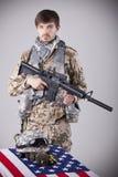 мемориальный воин Стоковые Фотографии RF
