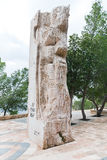мемориальный камень stele nebo горы Моисея Стоковое Фото