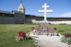 Мемориальный крест Стоковая Фотография