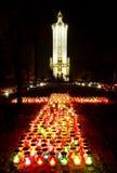 мемориальный памятник Стоковое Изображение RF