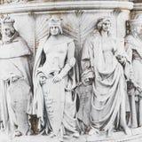 Мемориальный памятник Vittoriano в квадрате Venezia Стоковые Изображения