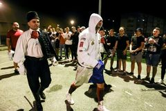 Мемориальный турнир Danijel Kalanj бокса стоковое изображение rf