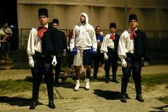 Мемориальный турнир Danijel Kalanj бокса стоковые изображения rf