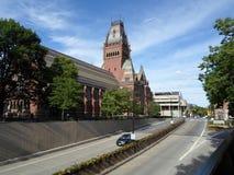 Мемориальный Hall, Гарвардский университет, Кембридж, Массачусетс, США стоковая фотография rf