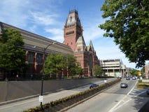 Мемориальный Hall, Гарвардский университет, Кембридж, Массачусетс, США стоковое изображение rf