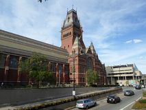 Мемориальный Hall, Гарвардский университет, Кембридж, Массачусетс, США стоковые изображения rf