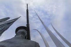 Мемориал военновоздушной силы США в DC Вашингтона Стоковая Фотография