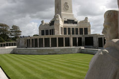 Мемориал войны сапки Плимута Стоковые Фотографии RF