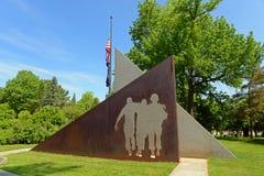 Мемориал Вьетнама в Augusta, МНЕ, США стоковые изображения