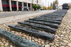 Мемориал в Польше стоковое фото
