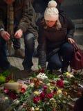 Мемориал годовщины января Palach стоковые изображения