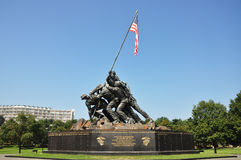 мемориал Ишо Жима флагов отцов наш Стоковая Фотография