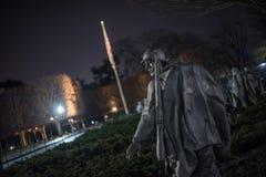 Мемориал Корейской войны Стоковые Фотографии RF
