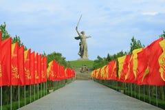 Мемориал кургана Mamayev стоковые изображения