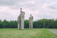 Мемориал к убитым людям, памятникам и природе Фото 20 перемещения Стоковые Изображения RF