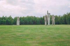 Мемориал к убитым людям, памятникам и природе Фото 20 перемещения Стоковое фото RF